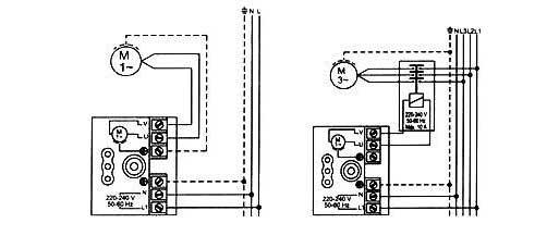 Электрическая схема подсоединения автоматического регулятора давления Brio2000-М Ladana.