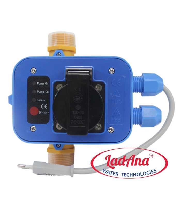 Автоматический регулятор давления DSK-1.2 Ladana с розеткой, можно купить в магазине насосов nasosovnet.ru.
