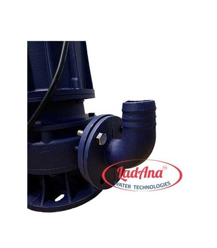 Центробежный дренажный насос LadAna WQ 12,5-40-4 (4,0 кВт) (380V).