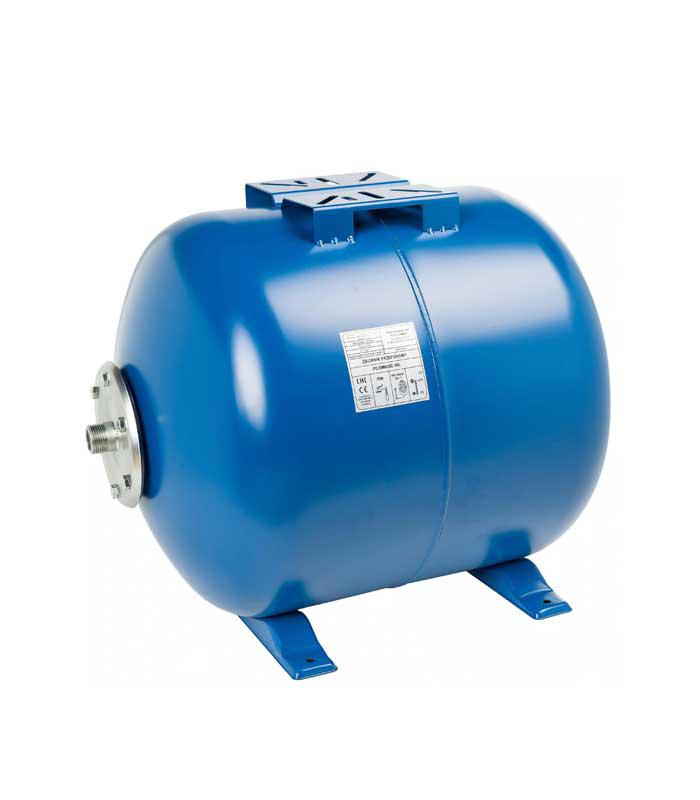 Гидроаккумулятор 24 л синий горизонтальный LadAna - отличная цена.