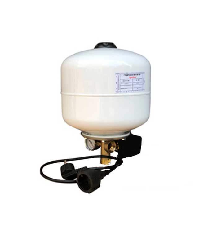 Гидроаккумулятор 8 л с комплектом автоматики LadAna - купить.