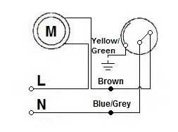 Стандартная схема подключения поплавкового выключателя