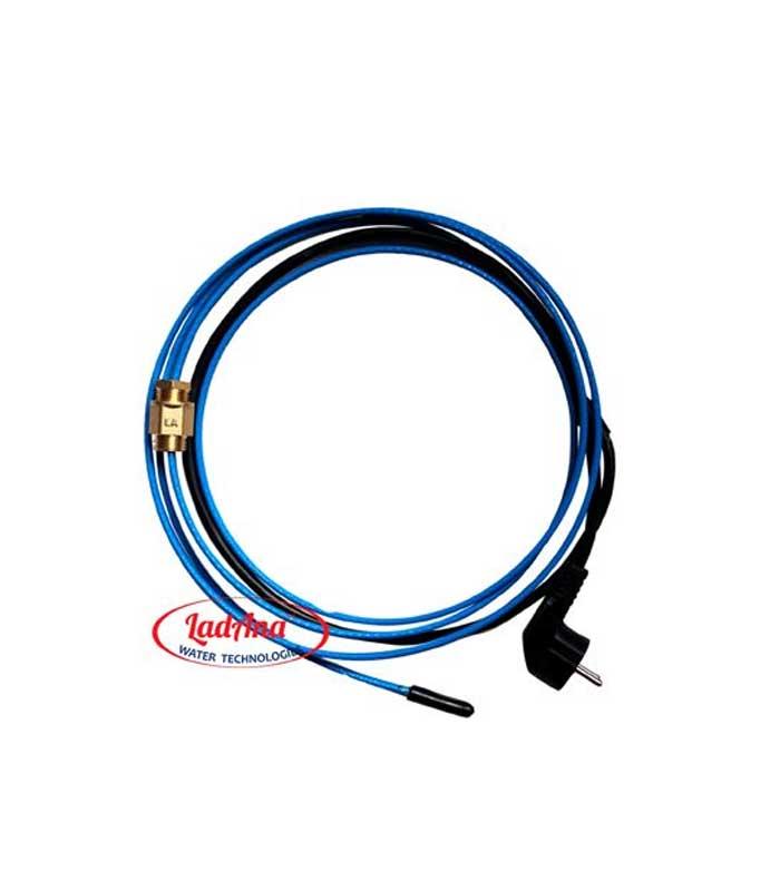 Саморегулирующийся греющий кабель внутри трубы LadAna.