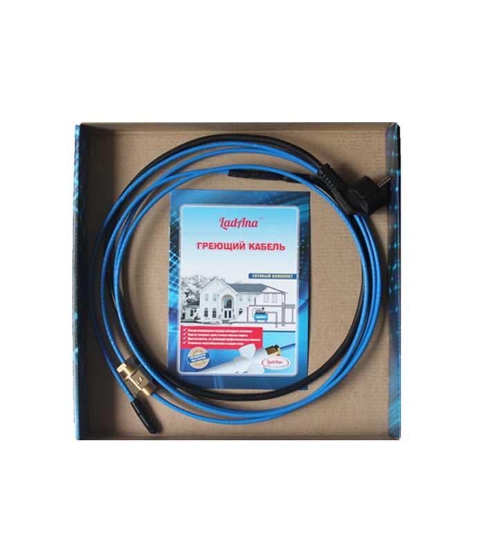 Саморегулирующийся греющий кабель внутри трубы LadAna можно купить в магазине насосов nasosovnet.ru