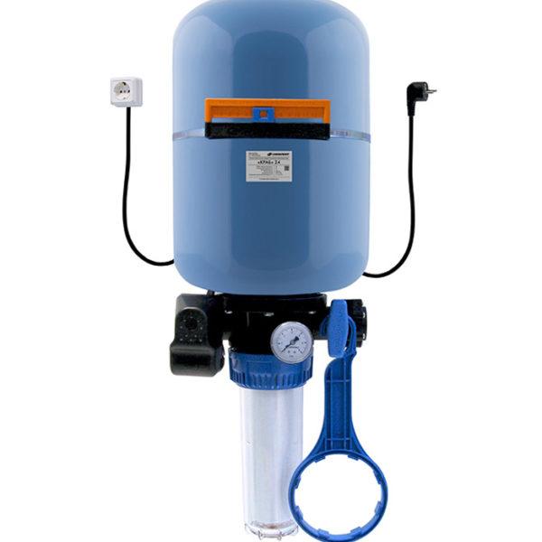 Автоматическая система Джилекс КРАБ 24 литра для организации водоснабжения.