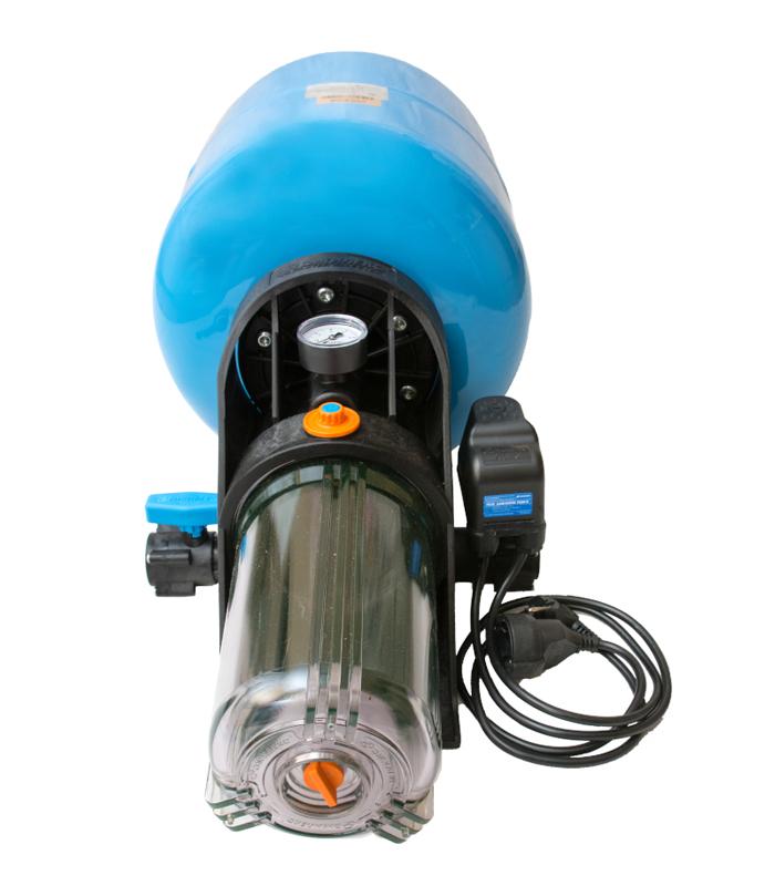 Автоматическая система водоснабжения Джилекс КРАБ-Т 18 л для поддержания давления и фильтрации можно купить в магазине NasosovNet.ru.