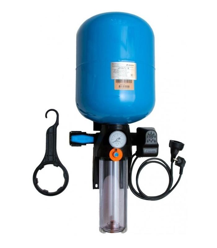 Автоматическая система Джилекс КРАБ-Т 18 л. (с торцевым смещенным соединением).