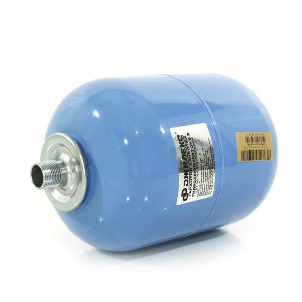 Гидроаккумулятор Джилекс 10 В (вертикальный, 10 л, металлический фланец).