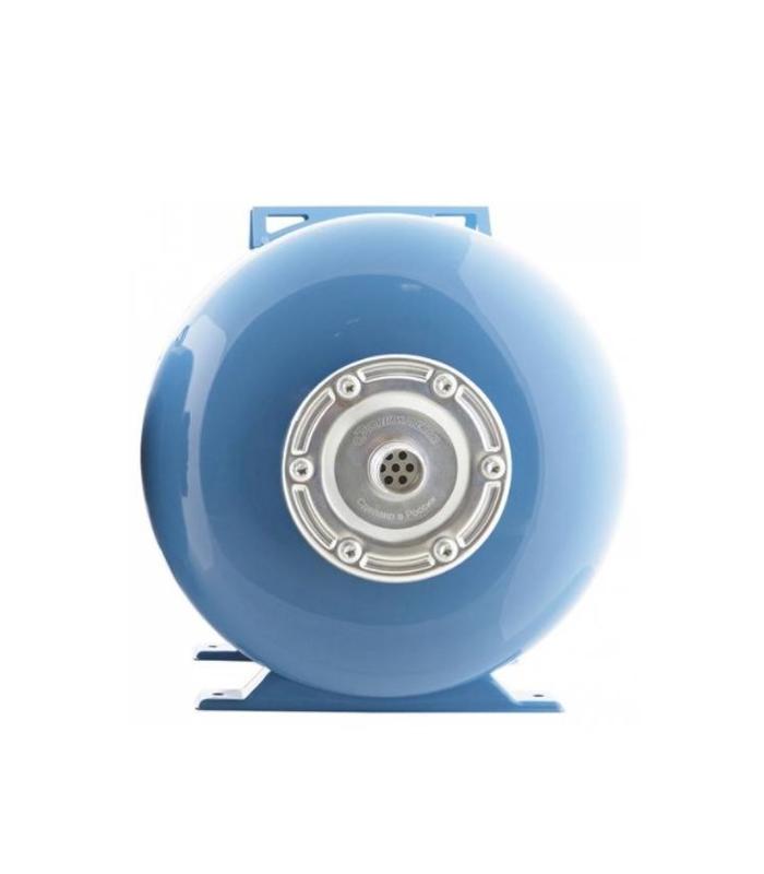 Гидроаккумулятор Джилекс 24 Г (горизонтальный, 24 л, фланец хром.сталь).