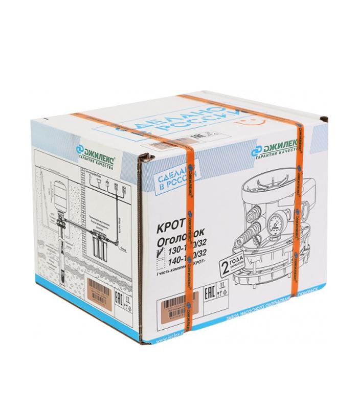 Оголовок КРОТ 110-130/32 в упаковке.