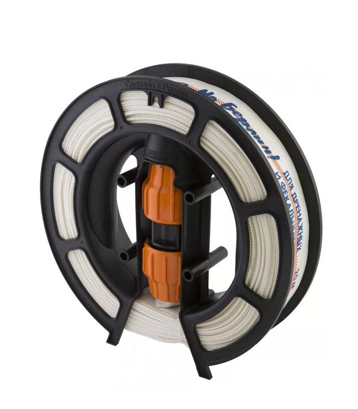 """Удлинитель шланга """"Удав"""" 32 мм Джилекс длиной 20 метров с соединительной муфтой можно купить по низкой цене в магазине nasosovnet.ru."""