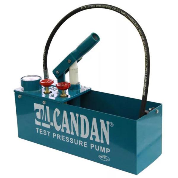 Ручной опрессовочный тест насос Candan CM-60 (Турция) для опрессовки труб отопления и водоснабжения можно купить в магазине NasosovNet.ru.