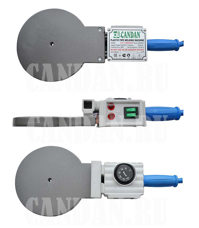 Паяльник Candan CM-05 (2400 Вт, для сварки труб до 160 мм).